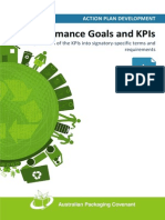 Performance Goals and KPIs 29.08.13
