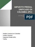 Impuesto Predial Unificado en Colombia (Ipu)