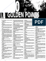 100 Golden Points