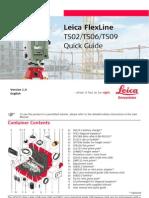 Leica FlexLine QuickGuide