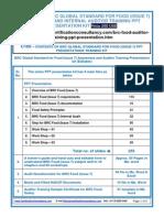 Brc Food (Issue 7) Auditor Training Presentation Kit