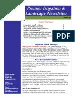 premier irrigation newsletter volume 13