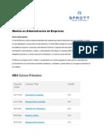 Curriculum and Grading Scale ESP