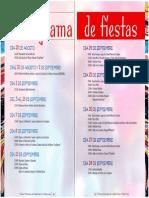 Programa de Fiestas 2007
