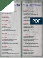 Programa de Fiestas 2010