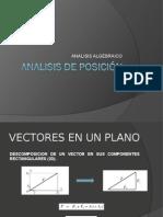 Mecanismos - Analisis Algebraico de Posicion