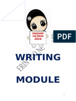 2013 Spm a Writing Module
