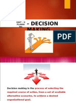 Unit - 2 Planning (Decision Making)123