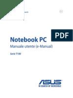 Manuale Utente Asus Tranformer Book t100