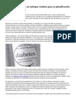 Diabetes alimentos un enfoque realista para la planificaci?n del men? diab?tico