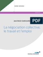 Rapport La Négociation Collective, Le Travail Et l'Emploi de Jean Denis Combrexelle