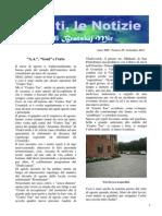 Frati Minori - Notizie da Viesti N. 09/2015