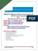 www.newstechcafe.com IBPS PO 2015-16 GK Capsule.pdf