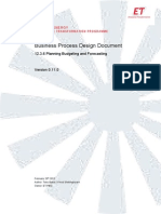 Planning Budgeting and Forecasting BPDD