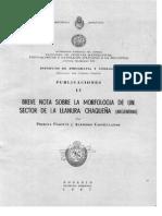 Pasotti y Castellanos Breve Nota Sobre La Morfología de Un Sector de La Llanura Chaqueña (Argentina)