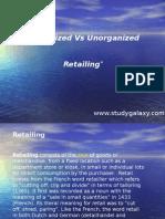 Organized vs Unorganized Retailing