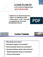 Basics of Corrosion