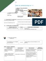 UNIDAD DE APRENDIZAJE N ro 7 (1 Formación Religiosa Y educación Artística..docx