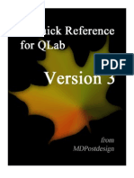 A Quick Reference for QLab V3