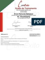 Certificado - ComExito - 5S - Housekeeping.