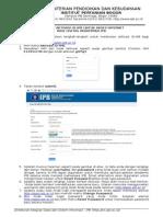 Panduan Aktivasi ID-IPB 2015
