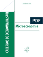 Cadernos Economia Saude 2 Microeconomia