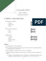 Ribeiro-Apostila Resumo Contraponto