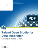 TalendOpenStudio DI GettingStarted 6.0.0 En