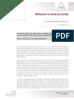 Terra Nova - Synthèse - Réformer Le Droit Du Travail_2