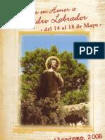 Programa de Fiestas 2008 (Alcadozo, Albacete, Spain)