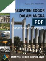 Kabupaten Bogor Dalam Angka 2012