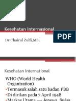 Kesehatan Internasional