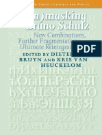 Dieter de Bruyn and Kris Van Heuckelom-Unmasking Bruno Schulz
