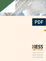 HESS TIMBER Company Brochure