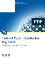 TalendOpenStudio BigData GettingStarted 6.0.0 En