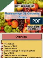 pharmacology of oxidative stress