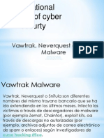 Vawtrak, Neverquest o Snifula  Malware