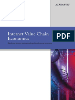 Internet Value Chain Economics