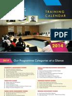 2014 Pla Training Calendar