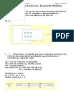 Primeira Lista de Exercícios – Estruturas Metálicas (1)