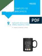9.1 Aplicar Numeración y Viñetas Tutorial Academia Infórmate Oposiciones(29)