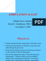 Gait & Ambulation 2004