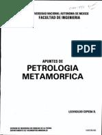 Apuntes de Petrologia Metamorfica