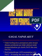 Askep Gawat Darurat Sistem Pernapasan