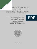 Ingenieria Militar en Las Crónica Catalanas