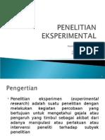 9. Penelitian Eksperimental.ppt