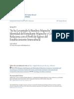 -Se Ha Levantado La Bandera Mapuche-- La Identidad Del Estudiante MARI