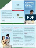 Folder Aleitamento