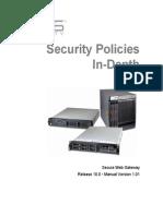 Security Policies in Depth 10.0