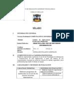 Sillabus de Didactica Del Uso d Erecursos Informaticas.